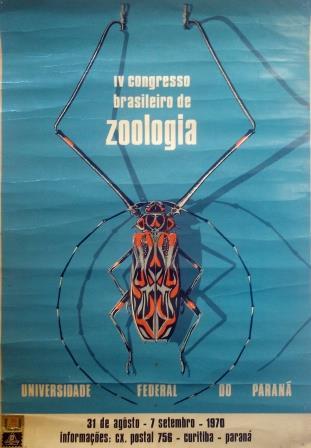 Cartaz de divulgação do IV CBZ (1970) (Acervo do autor).